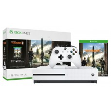 Игровая приставка Microsoft Xbox One S 1Tb + Tom Clancys The Division 2 (Цвет: White)