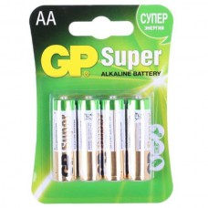 Батарейка GP Super Alkaline AA (4шт.)